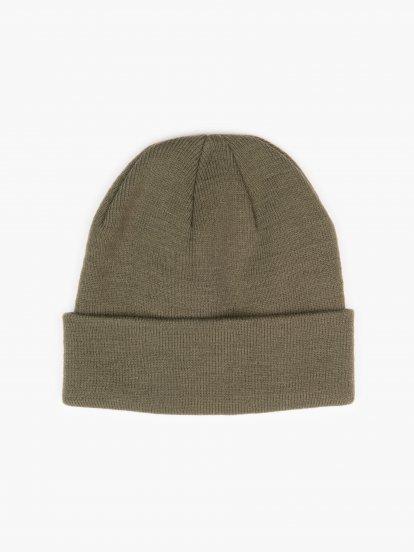 Knitted basic cap