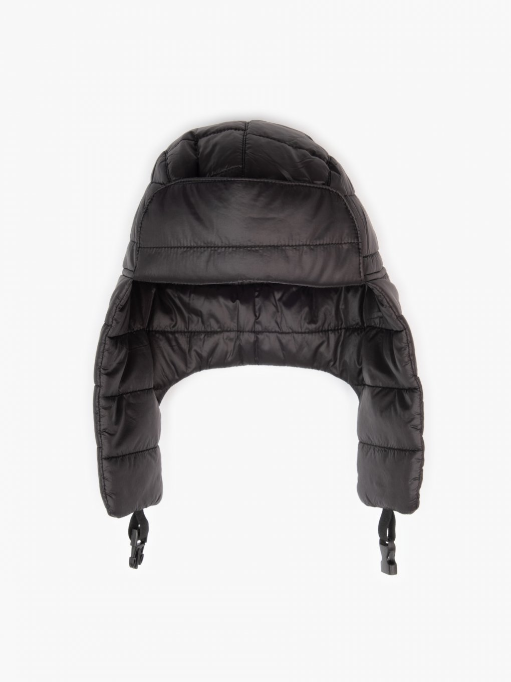 Quilted padded cap