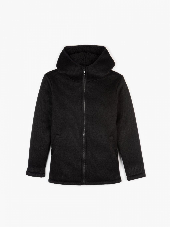 Pile lined jacket
