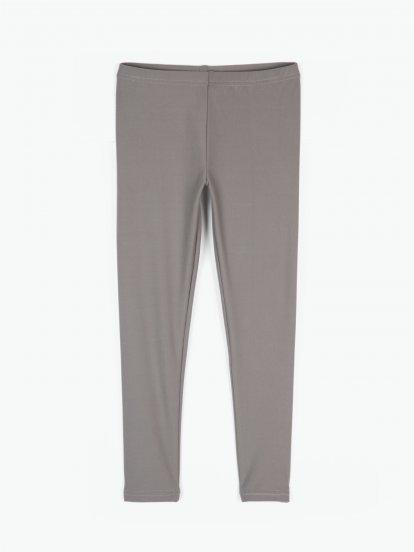 Plain soft leggings