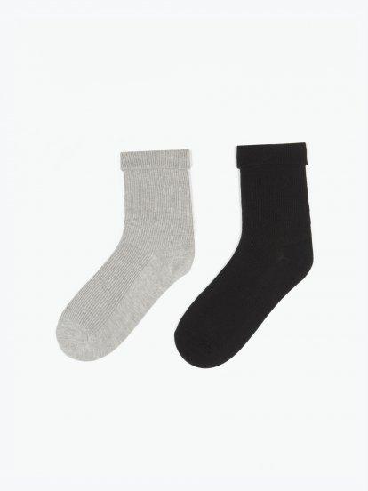 Sada dvou párů dámských ponožek