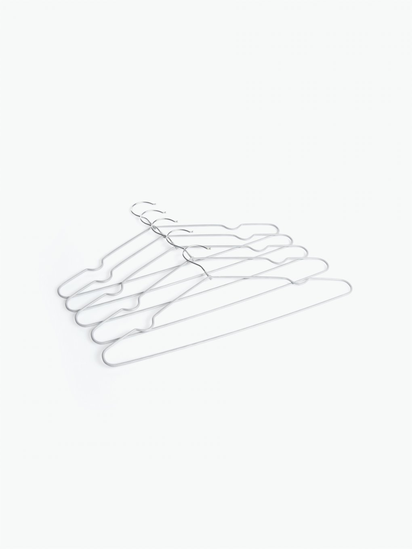 5-pack metal hangers