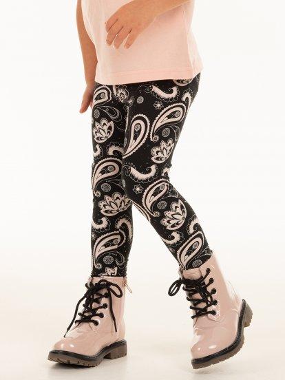 Soft patterned leggings