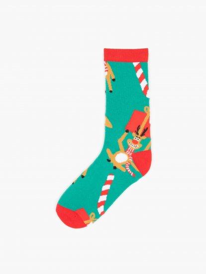 Vzorované ponožky pánske